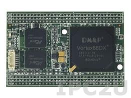 VDX-DIP-ISARD Процессорный модуль Mity-SoC Vortex86DX-800МГц с ОЗУ 256Мб DDR2, 10/100M Ethernet, 5xRS-232, 4xUSB, 2x GPIO 16bit, 2Мб SPI Flash, AMI BIOS