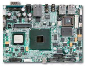 "PEB-2738I-1100 Процессорная плата формата 3.5"" Intel Atom Z510PT 1,1ГГц, LVDS/SDVO, GbLAN, CompactFlash II, 4xUSB, IDE, RoHS,температурный диапазон -40... 80"