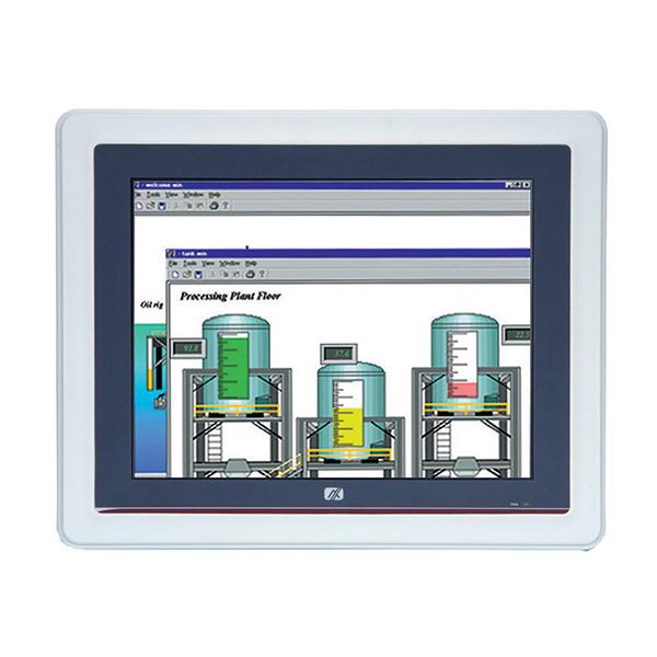 "GOT-5100T-834 Безвентиляторный панельный компьютер, 10.4"" SVGA дисплей, резистивный экран, Intel Celeron J1900 4C 2Ггц, 1x слот DDR3L SO-DIMM, отсек 2.5"" SATA HDD, CFast, 2xCOM, 2xUSB 2.0, 2xUSB 3.0, 2xLAN, Audio, 2x PCle Mini Card, питание 9-36В DC"