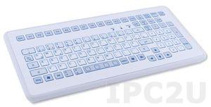 TKS-104c-KGEH-PS/2 Промышленная IP65 настольная клавиатура, 104 клавиши, PS/2