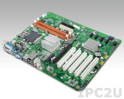 AIMB-769VG-00A2E Процессорная плата ATX, сокет LGA775 для Intel Core 2 Quad/Core 2 Duo, чипсет Intel G41+ICH7, до 8Гб DDR3 DIMM, VGA, Gb LAN, 2xCOM, 4xUSb 2.0, 4xSATAII-300, слоты расширения 1xPCIe x16, 1xPCIe x1, 5xPCI
