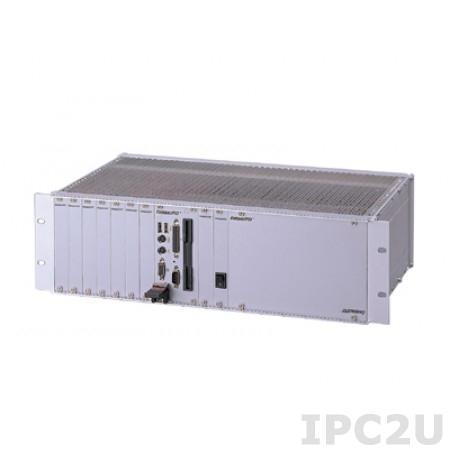 """cPCIS-1102R 19"""" Корпус 3U CompactPCI с 8-слотовой объединительной платой cBP-3208R, источники питания 2 x cPS-H325/AC, поддержка тыльных переходных модулей"""