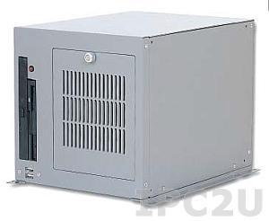 """PNC-5063-05P-A1501 6 слотовый корпус для половинного размера карты PCI с 5 слотами расширения. Внешний CD-ROM и FDD,место под 3,5"""" HDD, вентилятор, динамик, 2 USB на передней панели"""