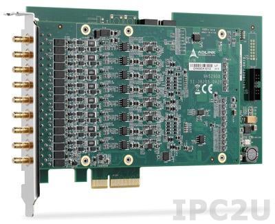 PCIe-9529 Плата ввода-вывода PCI-Express, 8 каналов AI 24-bit