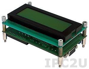 DK-8072/NK. Терминал вывода данных на экран LCD, RS-232/422, рабочий диапазон -10...+70, без клавиатуры
