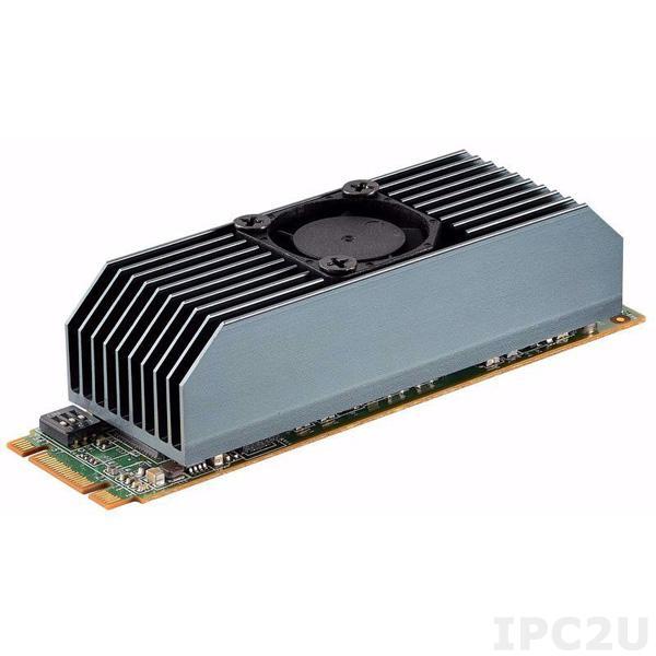 EGPA-I201-C1 Электронный модуль (плата) M.2 2280 ускорения обработки данных B+M Key , VPU Intel Movidius Myriad X x2, с установленным радиатором охлаждения