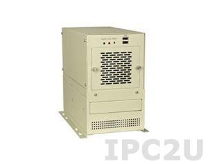 PAC-400GW/A618A 5-и слотовый корпус половинной длины, 1 x 8 см кулер, Источник питания ACE-916AP-RS 150W