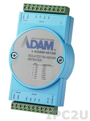ADAM-4510S-EE Повторитель RS-422/485, с изоляцией, -10...+70С