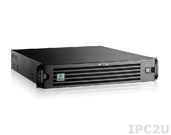 "NViS-6220 Компьютер для систем видеонаблюдения для монтажа в 19"" стойку, 2U, с Intel LGA1155 Core i7/i5/i3, до 16Гб DDR3, DualDisplay VGA/DVI-D/HDMI, 8x3.5"" FDD, 2xGB LAN, 6xUSB 2.0, 1xPCIe x16, 1xMiniPCIe, Audio"