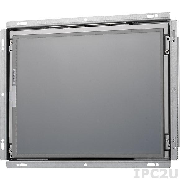 "OPPC-1230T Панельная рабочая станция с 12"" TFT LCD LED, Intel Atom D2550 1.86ГГц, резистивный сенсорный экран, 2Гб DDR3, 1x2.5"" SATA HDD, VGA, HDMI, 2xGbE, 2xCOM, 4xUSB, 2x Mini PCIe, CFast, Аудио, питание 12-30В DC"