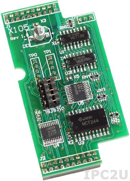 X105 8-канальный модуль дискретного ввода-вывода