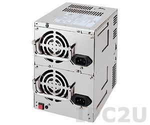 ZIPPY RHD-6460P Дублированный PS/2*2 источник питания переменного тока 460+460Вт, EPS12V, с PFC, RoHS