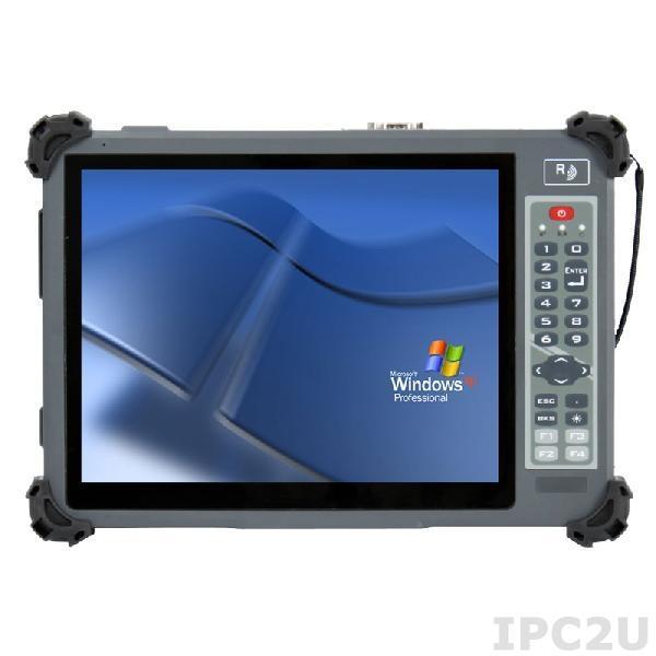 """G1052CS Защищенный планшетный компьютер 10.4"""", яркость 800 нит, с Intel Celeron N2930 1.83ГГц, емкостный сенсорный экран, 2Гб DDR3L, 32Гб SATA SSD, 1x SD/SDHC/SDXC, 2xUSB, WLAN, Bluetooth, 1x 2500 мАч аккумулятора, ИП 100-240В AC"""