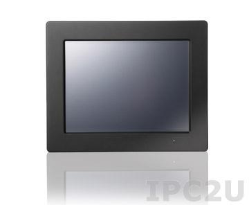 "WLP-7A20V-15BKRT Безвентиляторная панельная рабочая станция с 15"" TFT LCD, резистивный сенсорный экран, Intel Core i5-3317U 1.7ГГц, 4Гб DDR3, 500Гб HDD, 3xCOM, 4xUSB, 2xGbE LAN, DVI-I, 2xMini PCIe, Аудио, адаптер питания 60Вт"
