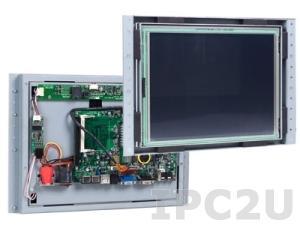 """VOX-121-TS/VDX-6328 Панельный компьютер с 12.1"""" TFT LCD, сенсорный экран, процессорная плата VDX-6328, 256Мб SDRAM, LAN, COM, Audio, USB, IDE 44контакта, внешний адаптер питания 47Вт"""