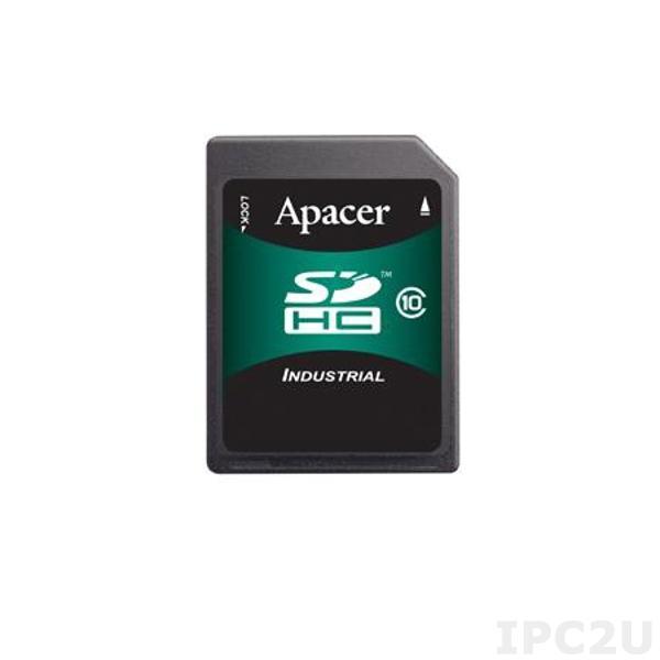 AP-ISD512CS2A-3T APACER Индустриальный Secure Digital, 512МБ, SLC, рабочая температура 0..70 С