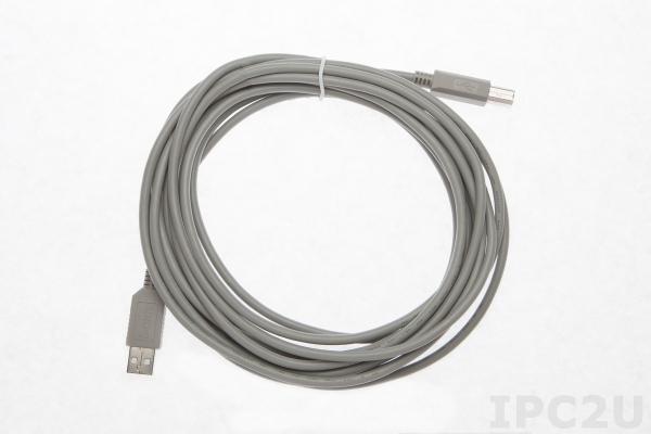 SLX147-05 Кабель USB, тип А в тип В, 5 м, ПВХ, 5В
